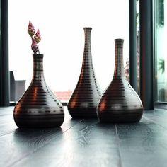 Vase marron - CUBA d�co
