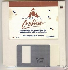 good old dial-up internet! America Online, Love The 90s, Old Technology, Floppy Disk, Historical Artifacts, Interesting Information, My Childhood Memories, 90s Kids