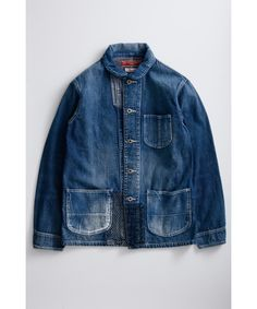 Browse the most sought after FDMTL clothing including Denim, Low-Top Sneakers, Shirts (Button Ups), & more. Denim Boots, Denim Jacket Men, Leather Jacket, Denim Fashion, Fashion Outfits, Blue Jeans, Work Wear, Casual, Menswear