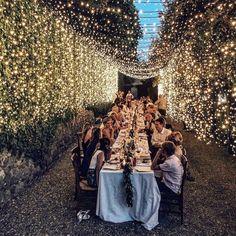 "1,044 Likes, 13 Comments - Modern Wedding Australia (@modernweddingmagazine) on Instagram: ""We are OBSESSED with fairy lights! Photography: @ruedeseinebridal"""