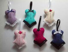 Felt corsets