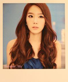 SNSD Taeyeon polaroid postcards Mr Mr