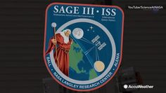 NASA has launched an ozone sensor to help monitor long-term change in the ozone layer. This sensor, called SAGE III, has been installed on the International Space Station.