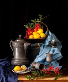 Still Life with Lemons - Have a Beautiful Weekend! at Cooking Melangery