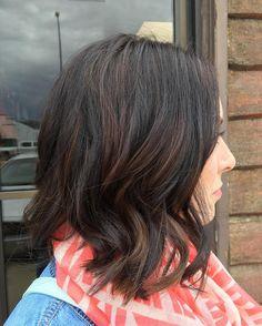 Fresh and Neat Chocolate Brown Hair