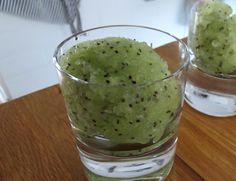 Kiwi fruit sorbet