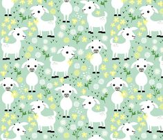 See the Baby goats collection for a variety of co-ordinating designs.  © Heleen van Buul 2017