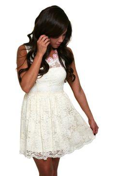 Creamy Dreamy Lace Dress
