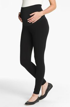 Maternal America 'Belly Support' Maternity Leggings available at #Nordstrom
