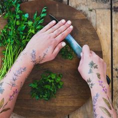 CULTURE N LIFESTYLE — New Plant-Scented Temporary Tattoos Are Beautiful...
