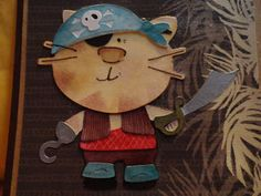 "Kitty Pirate  Runaway Crafting  ""Me-Arggg"""