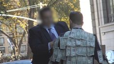 When This Man Walked Around New York In A Cash Covered Suit, The Reaction He Got Was Truly Shocking.