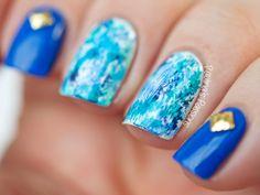Blue-Dry-Brush-Nail-Art-Paulina's-Passions