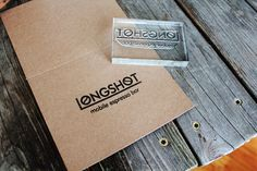 Custom 3x4 inch Rubber Stamp - Logo Rubber Stamp