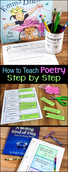 How to Teach Poetry Step by Step outlines an entire poetry unit for upper elementary students from beginning to end. This webinar recording is included in Laura Candler's Poetry Unit Bundle. Teaching Poetry is easy when you have the right tools!                                                                                                                                                     More