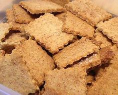 CINNAMON THINS - 2 carbs for 8 thins! They are much sturdier than you would expect. Wonderful with cheese, strong enough for a cream cheese dip, and yet, they taste incredible all by themselves. Just like the Lay's potato chips of old--bet you can't eat just one!