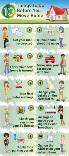 10 things to do before you move home