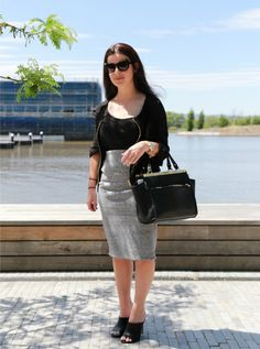 """Street Stylin' Kingston Foreshore: Hannah """"Glasses are a great summer accessory to add interest to any summer outfit..."""""""