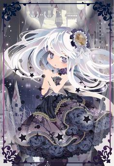 Twitter Chibi Characters, Girls Characters, Anime Chibi, Kawaii Anime, Chibi Eyes, Cocoppa Play, Anime Hair, Star Girl, Cute Chibi