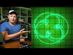 Oscilloscope Music - (Drawing with Sound) - Smarter Every Day 224 - YouTube Computer Technology, Science And Technology, Parametric Equation, Music Drawings, Physical Science, New Media, Sd Card, Physics, How To Become
