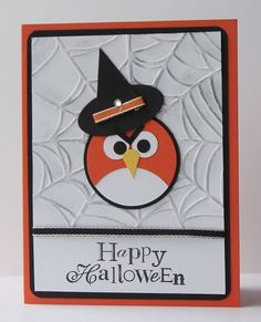 Another great Halloween Card by Stamp with Heather