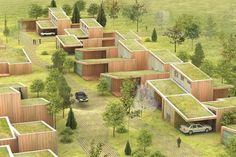 Rotterdam, Netherlands-based ArchitectenConsort in designing a green housing development in southern Sweden.