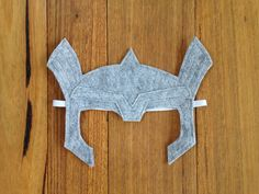 Thor Helmet  Felt Dress up Mask / Costume by Stitchandwillow
