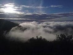 Mar de nubes bajando de Montánchez