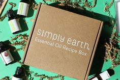 Monthly Subscription, Subscription Boxes, Recipe Box, Eco Friendly, Essential Oils, June, Earth, Natural, Mother Goddess