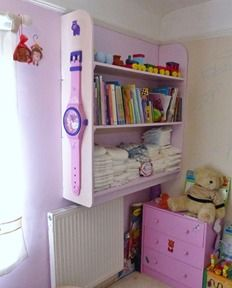 Storage in the nursery from Nursery-Thymes #abdl
