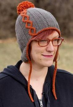 Dak Mai Hat - Knitting Patterns by Annie Watts