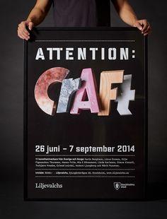 Attention: Craft - Identity   Abduzeedo Design Inspiration