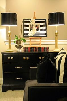 HOW TO use thrift store items to create a dream space