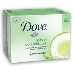 Dove Bar Soap, Cool Moisture, 16 Count $21.44