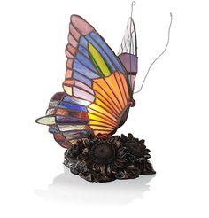 Tiffany Style Sympathy Lamp - Mosaic Butterfly