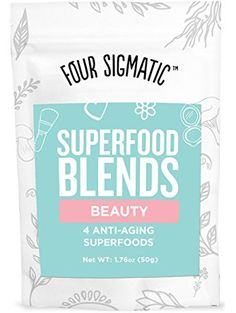 Four Sigma Foods Beauty Blend  Anti-aging Superfoods, 1.76 Ounce ❤ Four Sigma Foods Inc