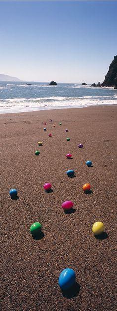 Am Strand macht es einfach keinen Spaß, Ostereier zu verstecken. 11 weitere Gründe, warum Sie Ostern besser nicht verreisen sollten: http://www.travelbook.de/deutschland/Warum-Sie-Ostern-besser-nicht-verreisen-625857.html
