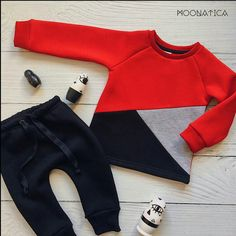 Niño Baby Boy Fashion, Toddler Fashion, Kids Fashion, Toddler Outfits, Baby Boy Outfits, Kids Outfits, Newborn Boy Clothes, Kids Clothes Boys, Girls In Leggings