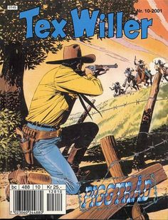 The Tex Willer series is an Italian-made interpretation of the American Old West, inspired by the classical characters and stories of old American Western movies