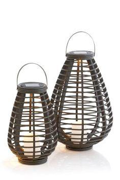 Buy Solar Grey Rattan Lantern from the Next UK online shop