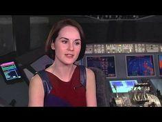 Non-Stop: Michelle Dockery Interview --  -- http://wtch.it/ht0AZ