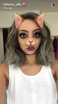 Jade on Little Mix' s snapchat