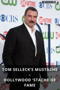 Tom Selleck's Mustache – Hollywood 'Stache of Fame From Beardoholic.com