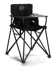 Look at this #zulilyfind! ciao! baby Black Travel High Chair by ciao! baby #zulilyfinds