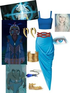 """""""kidagakash from Atlantis"""" by mlaws124 ❤ liked on Polyvore"""