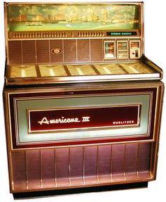 Jukebox Wurlitzer, 1969.