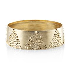 Milly Swire : Product : Granulated Wide Bangle