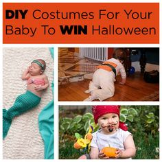 11 DIY Costumes For Your Baby To Win Halloween