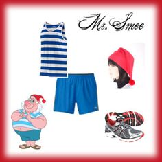 Mr. Smee Men's Running Costume