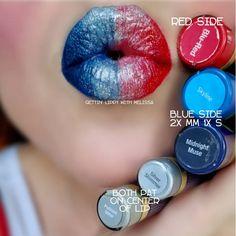SeneGence LipSense Layering 💙💋💄 💋 Blu-Pink for crimson aspect & Midnight. Glitter Gloss, Silver Glitter, Lipsence Lip Colors, Makeup For Older Women, Senegence Makeup, Beauty Hacks, Beauty Tips, Makeup Tips, Lip Sense